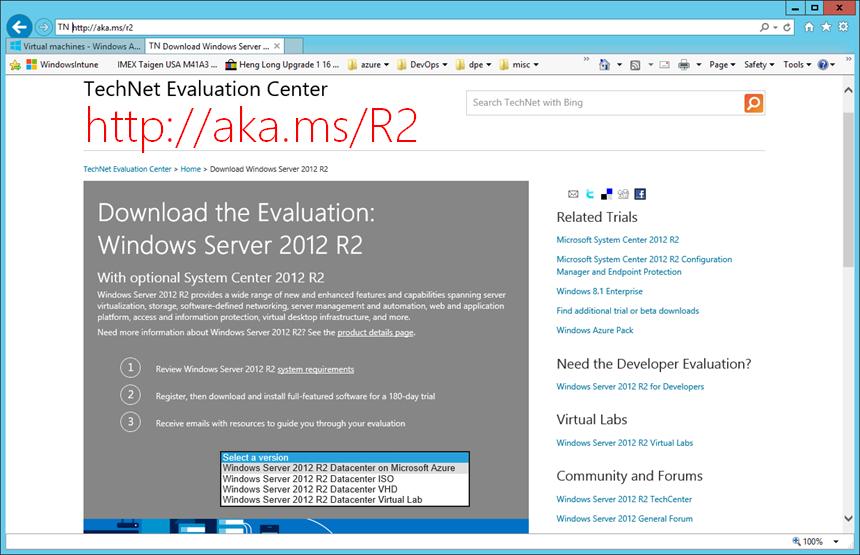 windows server 2012 r2 download trial