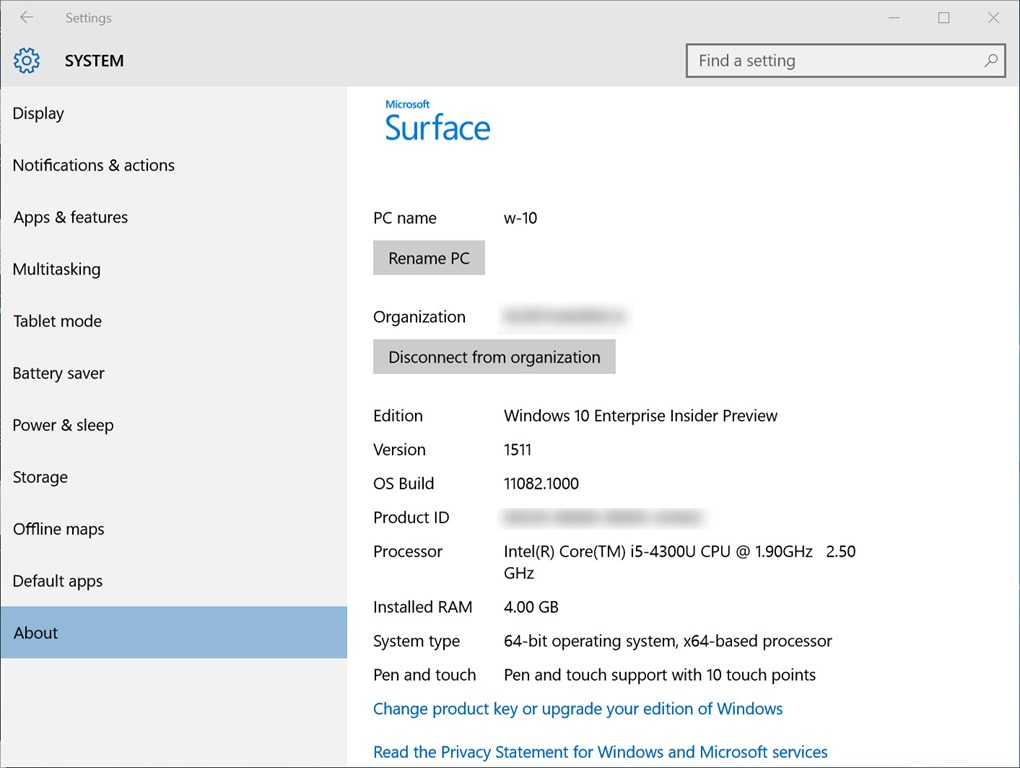 surface pro 4 uefi factory reset